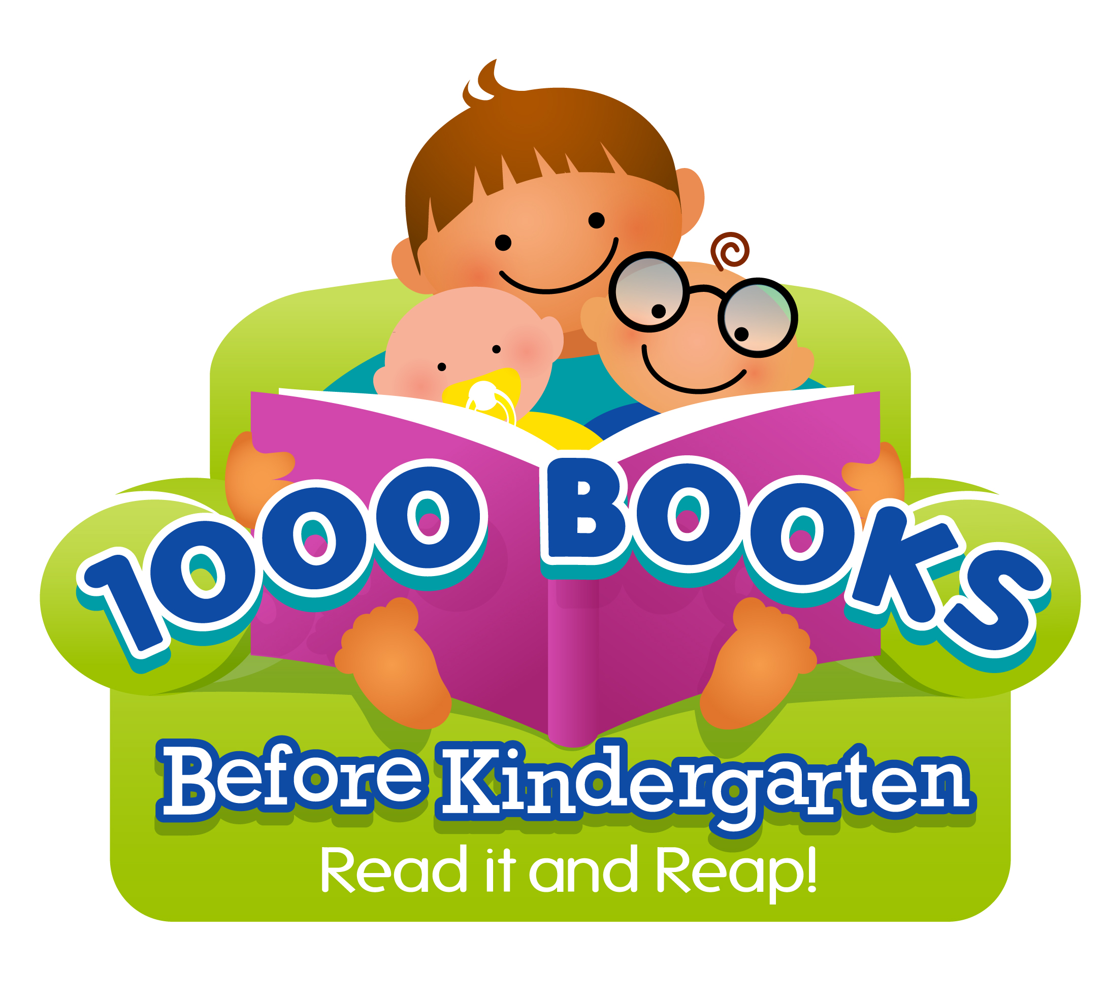 1000 Books Before Kindergarten: Read it and Repeat