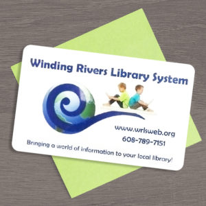 Photo of Winding Rivers Library System Library Card