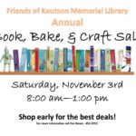 Book, Bake, & Craft Sale