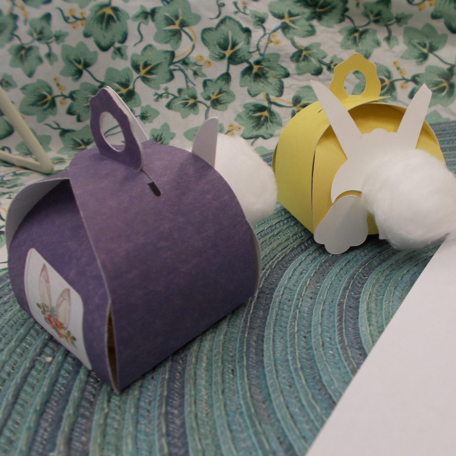 Take & Make Bunny Treat Boxes
